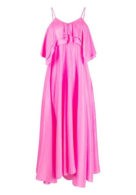 Forte forte ruffle-detail dress women pink spirit FORTE FORTE | Dresses | 8235PNKSPRT