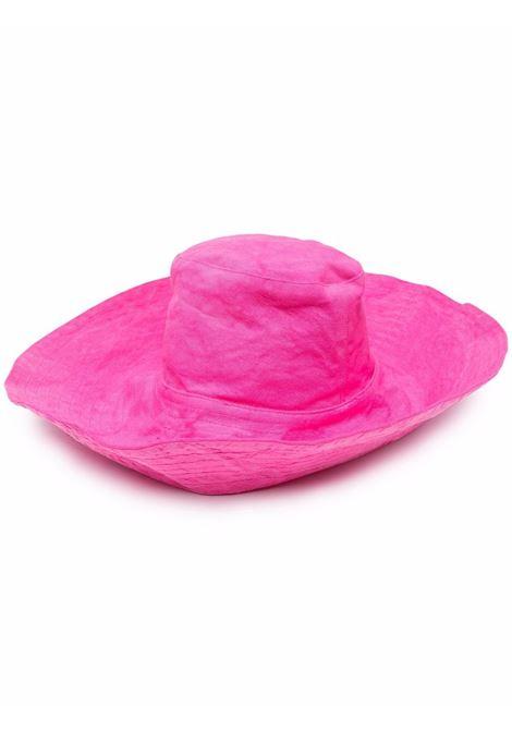 Wide brim hat women pink spirit FORTE FORTE | Hats | 8280PNKSPRT