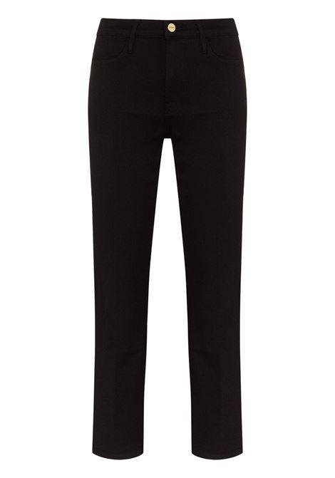 Frame Denim jeans le high donna film noir FRAME DENIM | Jeans | LHST403FILMNOIR