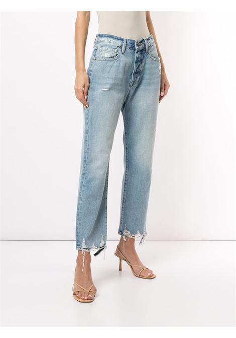 Cropped distressed jeans FRAME DENIM | LOJ385BCLSH