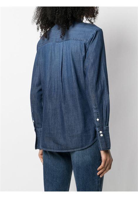 Ruffled front shirt FRAME DENIM | LWSH2045FMBL