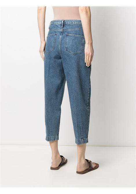 Pleated barrel jeans FRAME DENIM | PBLP385CMPS