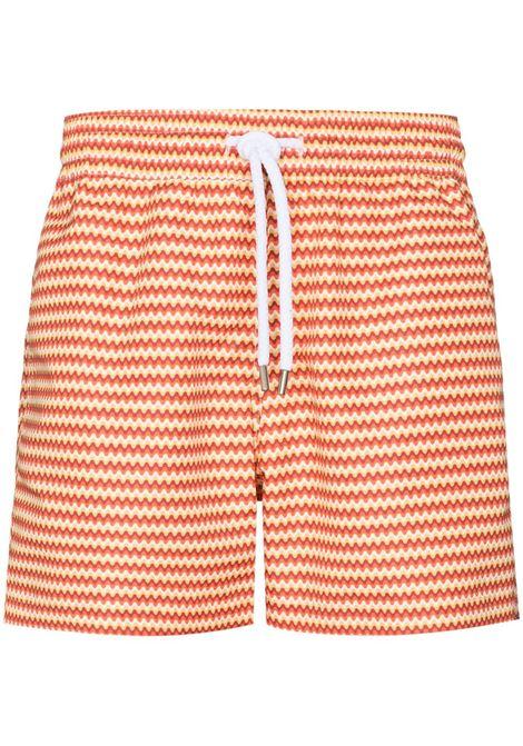Frescobol carioca copacabana swim shorts men tangerine canary FRESCOBOL CARIOCA | Swimwear | 1824498