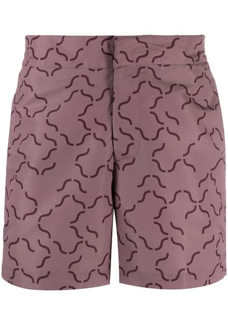 Geometric-print swim shorts FRESCOBOL CARIOCA | 1835490