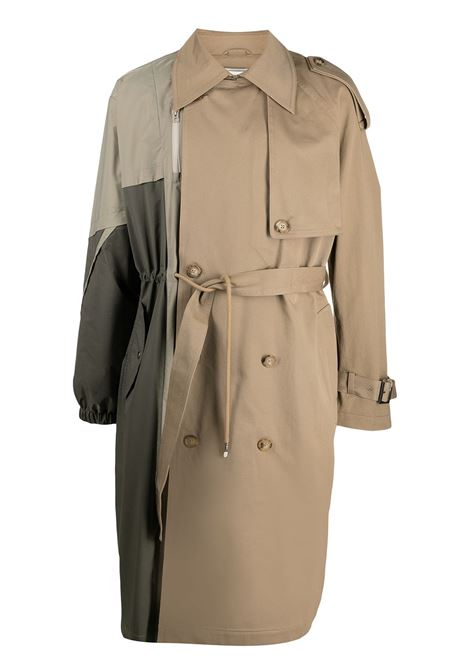 Panelled Trench Coat Feng Chen Wang | Outerwear | FS11COA002KHK