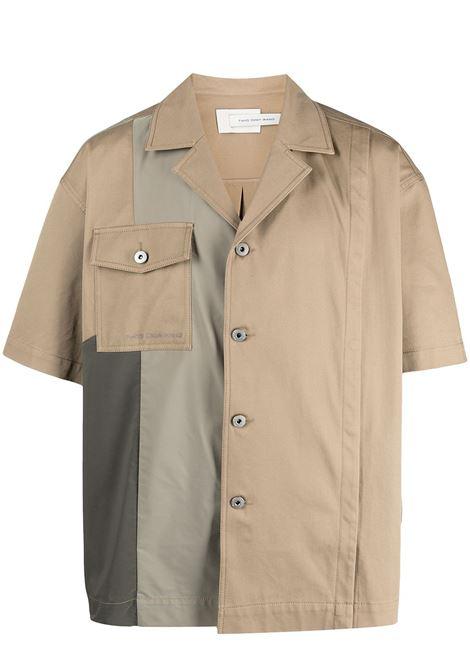 Panelled shirt Feng Chen Wang | Shirts | FS11SHI805KHK