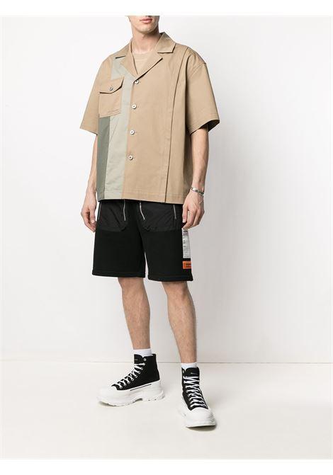 Camicia a pannelli Uomo FENG CHEN WANG   FS11SHI805KHK