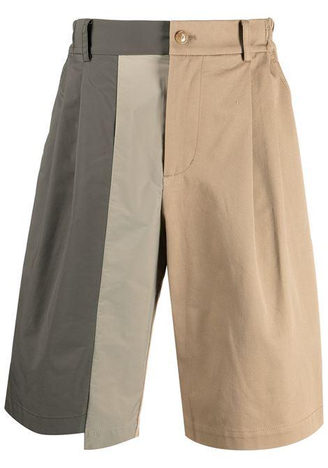 Colour-block shorts Feng Chen Wang | Bermuda Shorts | FS11SHO601KHK