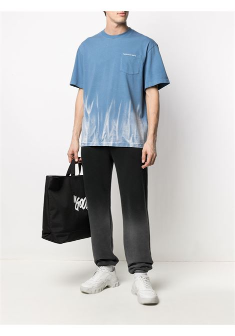 Flame-print t-shirt FENG CHEN WANG | FS11TSH702BL