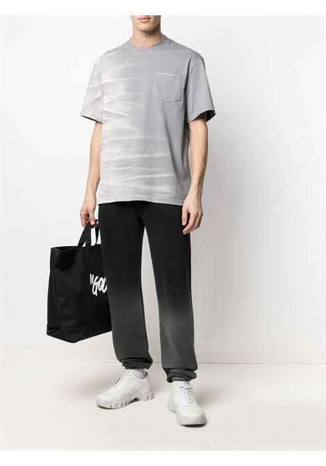 Whisker-effect T-shirt FENG CHEN WANG | FS11TSH703GRY