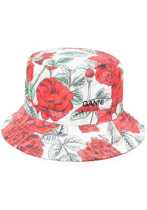Ganni cappello seasonal tech donna brazilian sand GANNI | Cappelli | A3326196