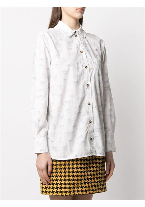 Camicia con stampa Donna GANNI | F5453151