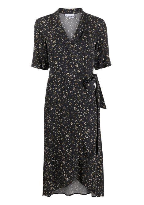 Ganni floral dresswomen black GANNI   Dresses   F5731099