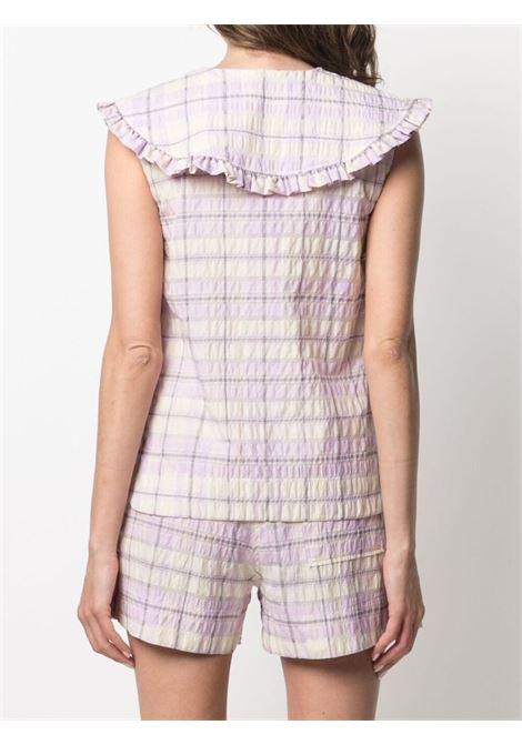 Camicia smanicata Donna GANNI | F5826724