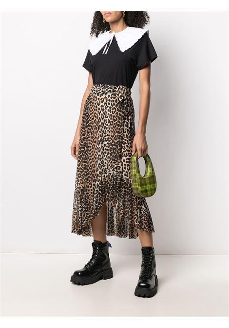 Gonna leopardata Donna GANNI | T2701943