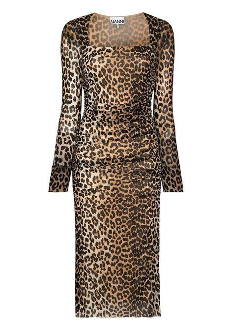 Leopard dress GANNI | Dresses | T2718943