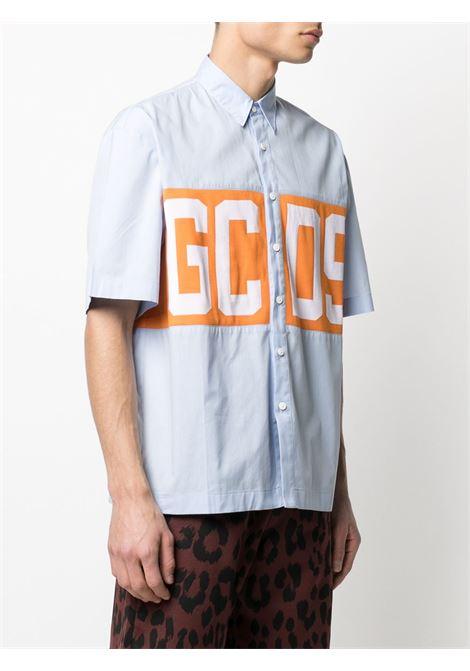 Camicia con logo Uomo GCDS | CC94M02030007