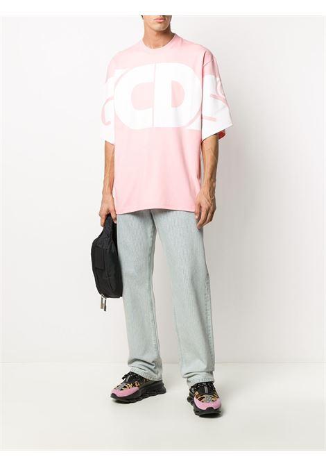 T-shirt con macro logo Uomo GCDS | CC94M02100606