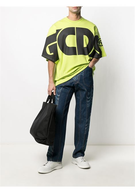 T-shirt con macro logo Uomo GCDS | CC94M02100651