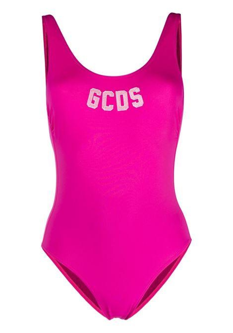 Gcds costume con logo donna cherry GCDS | Costumi | CC94W01018256