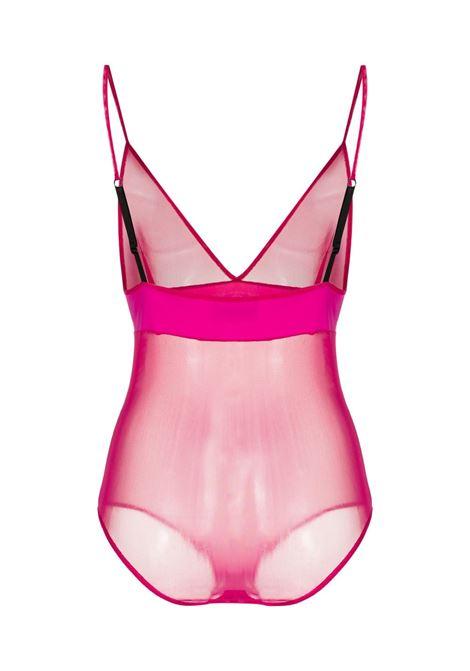 Body semi trasparente Donna GCDS | CC94W02060056