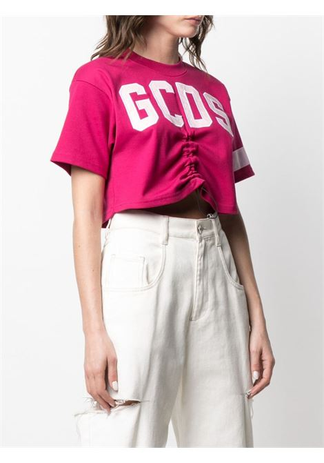 T-shirt crop Donna GCDS | CC94W02060356