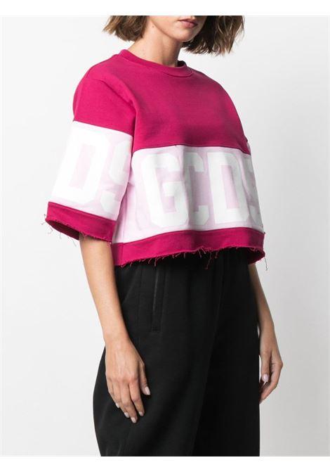 T-shirt con design color-block Donna GCDS | CC94W02060456