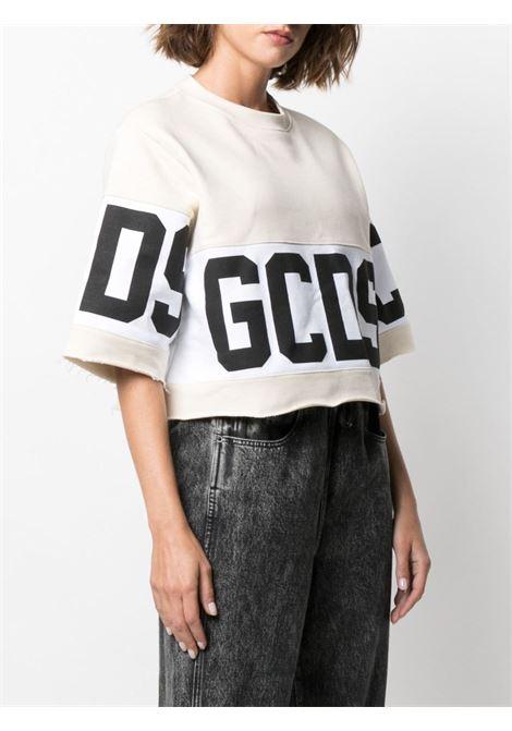 T-shirt con macro logo Donna GCDS   CC94W02060457