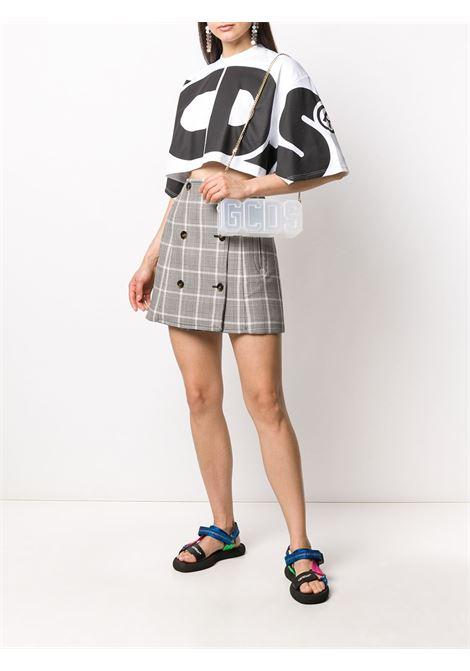 T-shirt con macro logo Donna GCDS | CC94W02100101