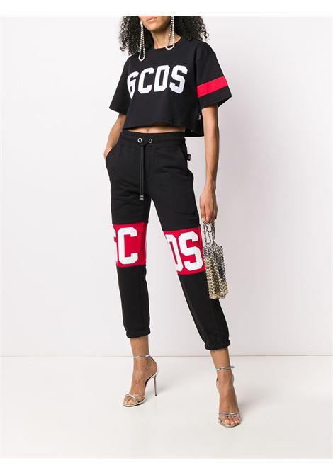 T-shirt crop con logo Donna GCDS | CC94W02100502