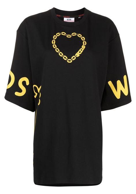 Two-tone T-shirt GCDS   T-shirt   MM21M02005902