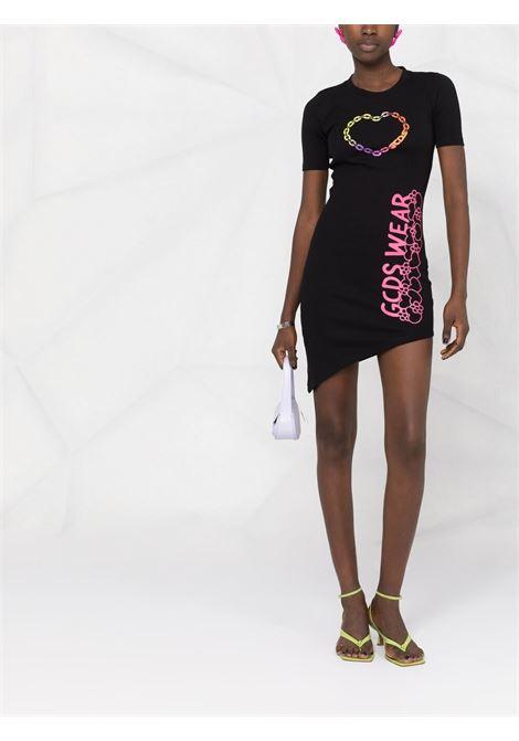 Abito T-shirt con logo Donna GCDS   MM21W02017102