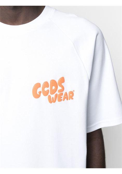 T-shirt con logo X Rick & Morty Uomo GCDS | RM21M02006201