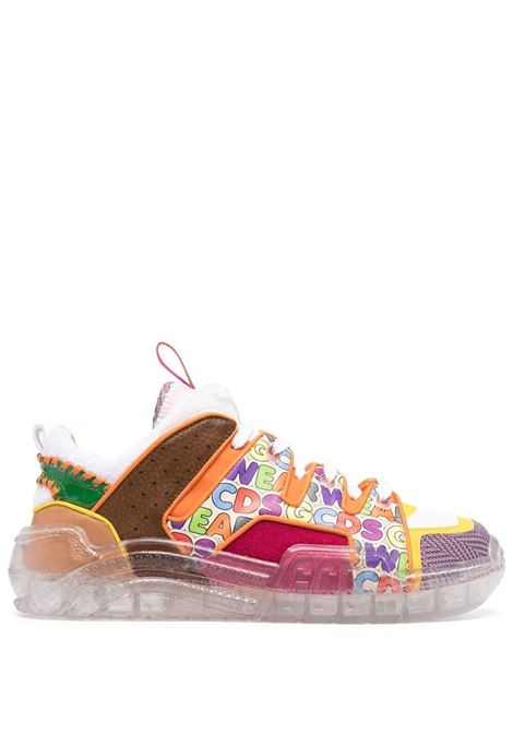 Gcds sneakers con pannelli a contrasto uomo mix GCDS | Sneakers | SS21M010001MX