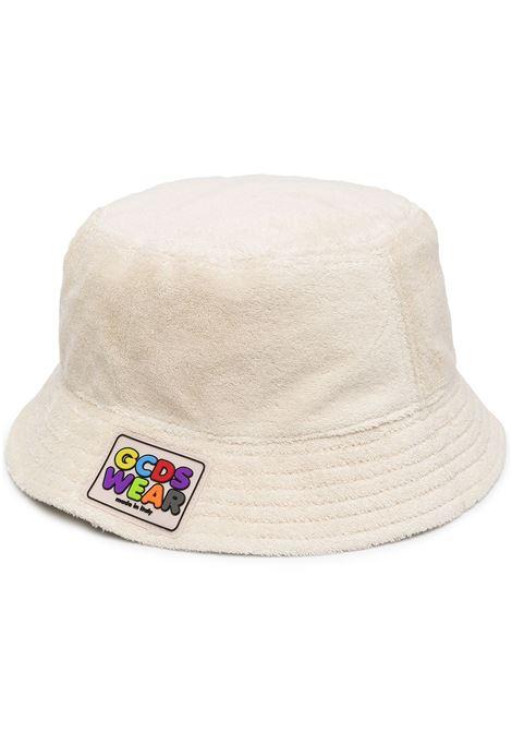 Logo patch terry-cloth bucket hat GCDS | Hats | SS21M01007957