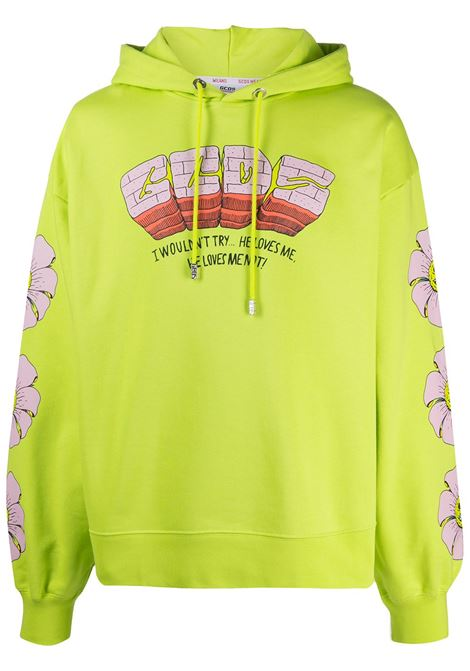 Graphic-print sweatshirt GCDS | Sweatshirts | SS21M02006351