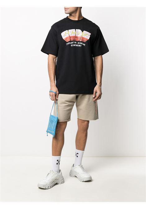 T-shirt con logo Uomo GCDS   SS21M02006802