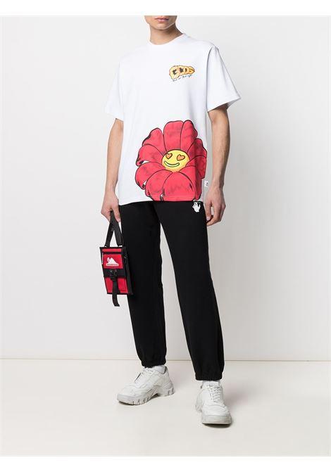 T-shirt con logo Uomo GCDS | SS21M02006901