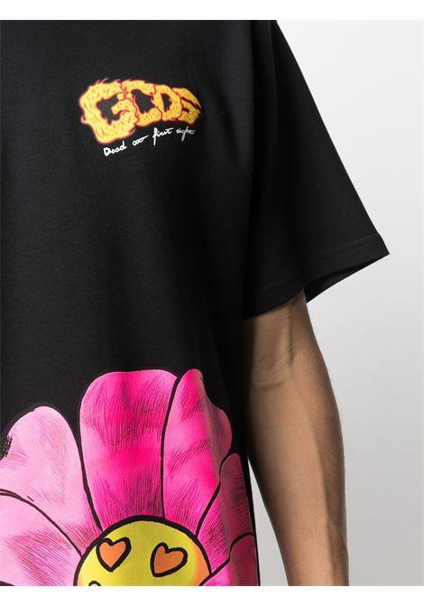 T-shirt con stampa Uomo GCDS | SS21M02006902