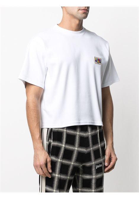 T-shirt con logo Uomo GCDS   SS21M02007301