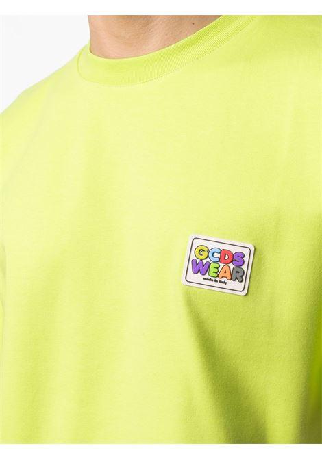 T-shirt con logo Uomo GCDS   SS21M02007351