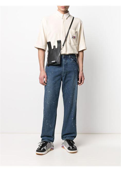 Camicia con logo Uomo GCDS | SS21M02011057