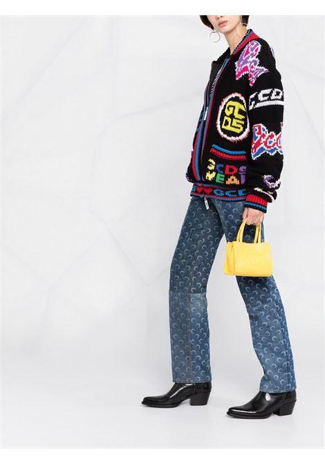 Cardigan con zip Donna GCDS   SS21U04000102