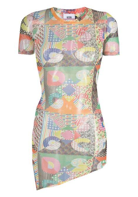 Gcds mini dress women mix GCDS | Dresses | SS21W020035MX