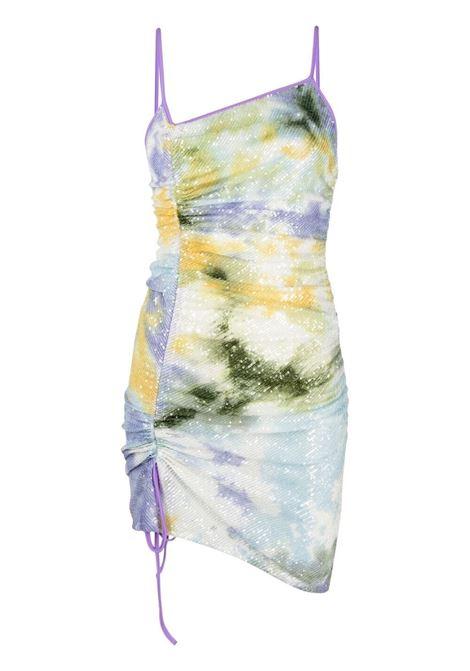 Gcds abito con fantasia tie dye donna mix GCDS | Abiti | SS21W020046MX