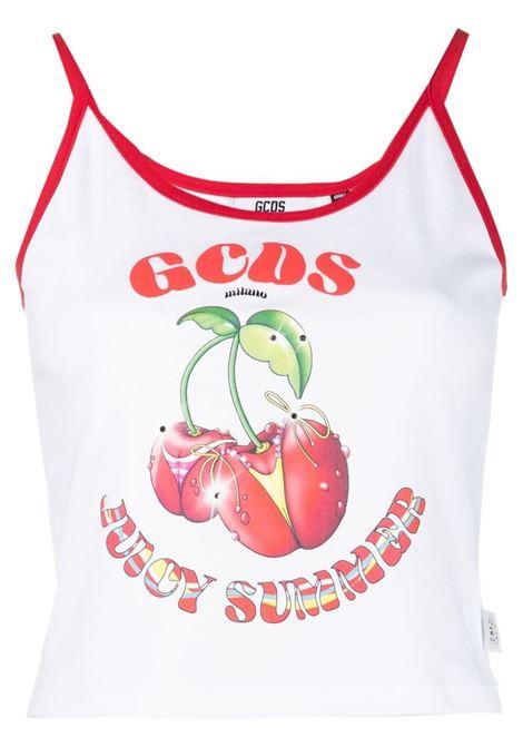 Gcds logo top women white GCDS | Top | SS21W02015601