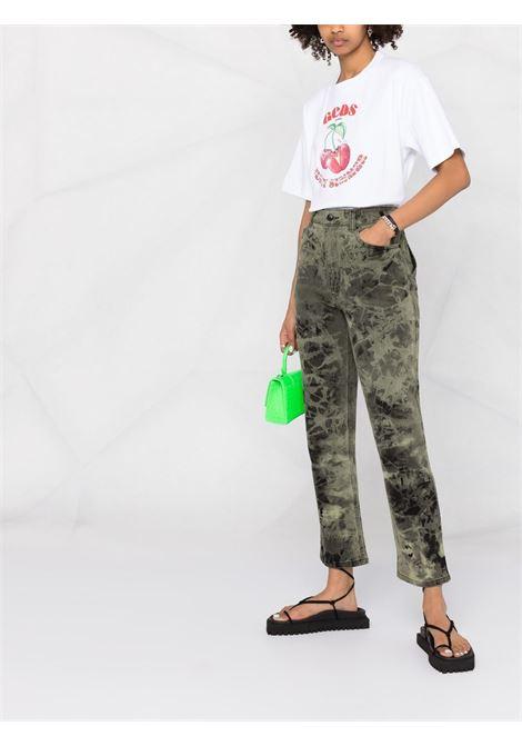 T-shirt con stampa Donna GCDS | SS21W02017901