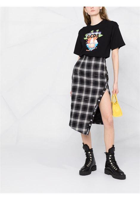 T-shirt con stampa grafica Donna GCDS | SS21W02017902