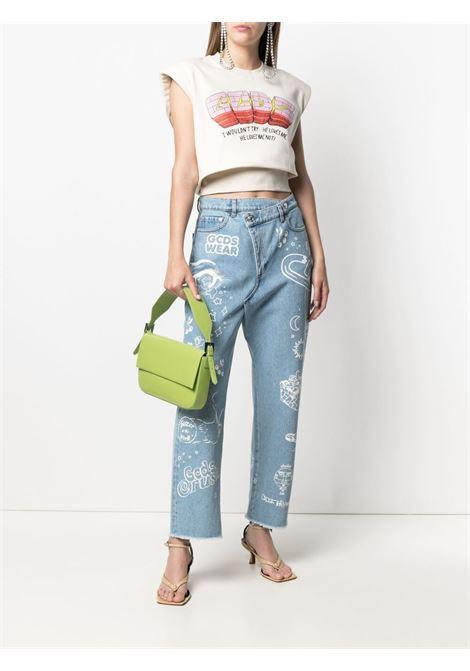 Jeans con effetto vissuto Donna GCDS | SS21W03009555