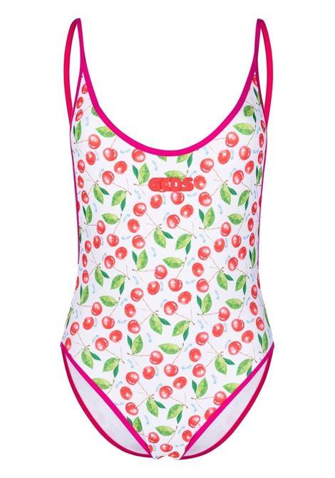 Cherry-print swimsuit GCDS | Swimwear | SS21W05000401